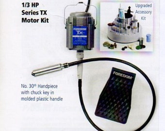 Foredom TX 300 Motor Jeweler's Kit