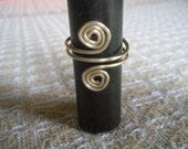 Sprial wire ring