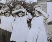 vintage photograph - too much light