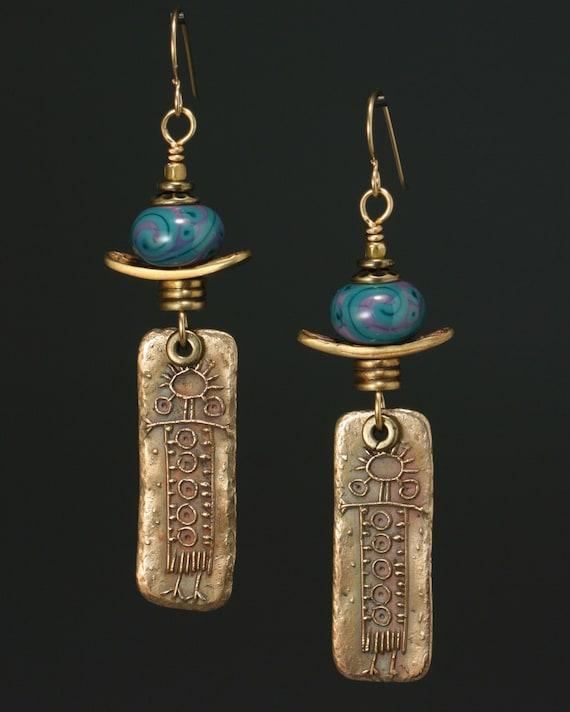 Petroglyph Women earrings