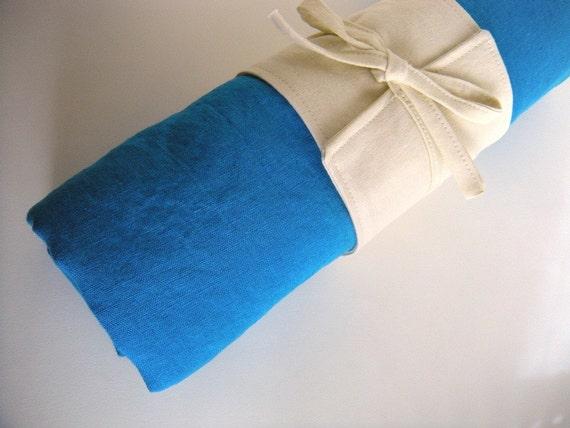 the sloane linen beach towel