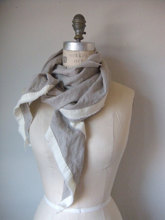 the joey linen scarf