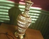 Retro Mosaic Style Ceramic Lamp