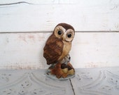 Vintage Owl by Andrea 6350 Sadik by Andrea 4 inch Figurine