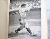 The Big Baseball Book for Boys M G Bonner Introduction by Ty Cobb 1931 Red & Black
