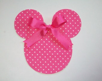 DIY No-Sew Minnie Mouse Applique - Iron On