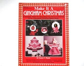 Christmas Craft Book, Vintage, Gingham