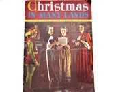 Christmas in Many Lands Rare Vintage Book