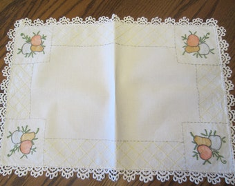 Placemats, Vintage Handmade