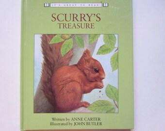Vintage Children's Book, Scurry's Treasure