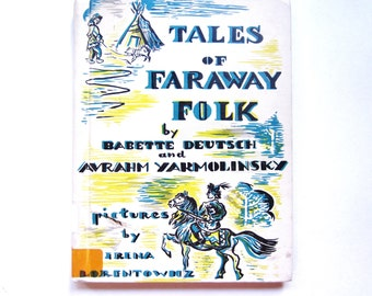 Tales of Faraway Folk, a Vintage Children's Book