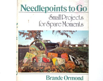 Needlepoints to Go, a Vintage Craft Book