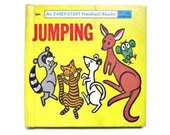 Jumping, 1965 Vintage Children's Book