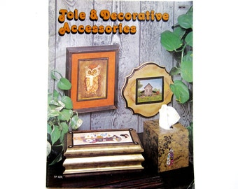 Tole Painting Book, Vintage Craft