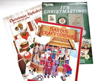 Christmas Craft Books, Three Vintage Books
