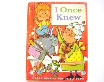 I Once Knew, a Vintage Children's Book