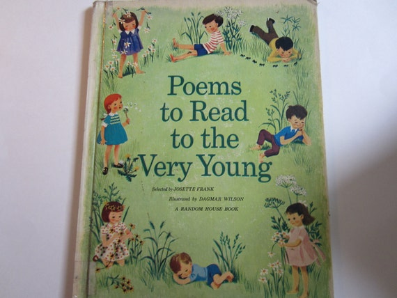 Poems to Read to the Very Young, a Vintage Children's Book