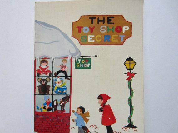Vintage Children's Book, The Toy Shop Secret