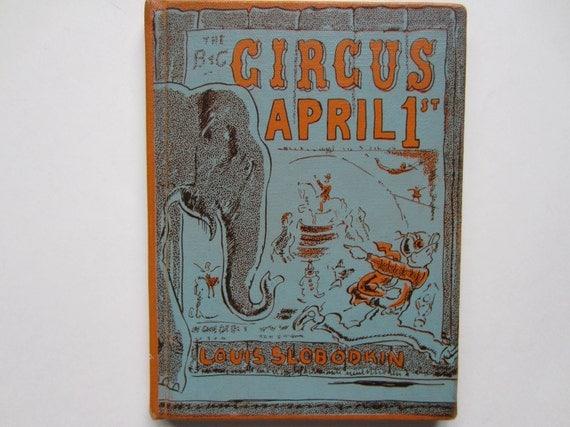 Circus April 1st, a 1950s Vintage Children's Book