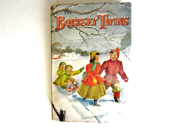 The Bobbsey Twins, a Vintage Children's Book, Collectible