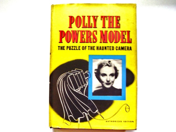 Vintage Whitman Girl's Book, Polly the Powers Model