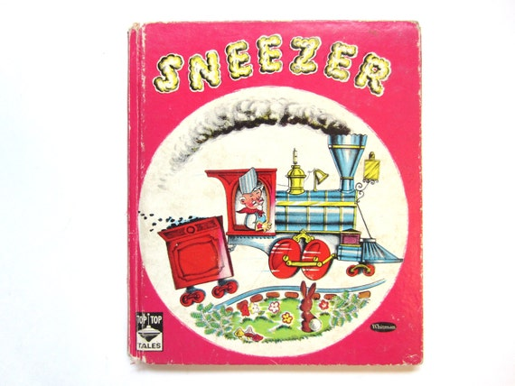 Vintage Children's Book, Sneezer