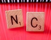 Customised Scrabble Cufflinks