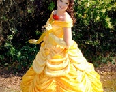 Belle Parade Version Adult Costume Beauty and the Beast Gown - FULL PACKAGE