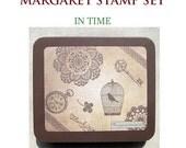Margaret Rubber Stamp Set - In Time Stamp Set of 9