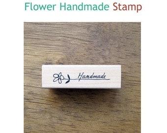 Simple Rubber Stamp-Flower Handmade
