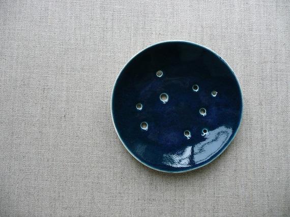 Starry Night Rd Ceramic Soap Dish SALE