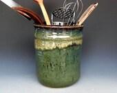 Kitchen Utensil Holder Green