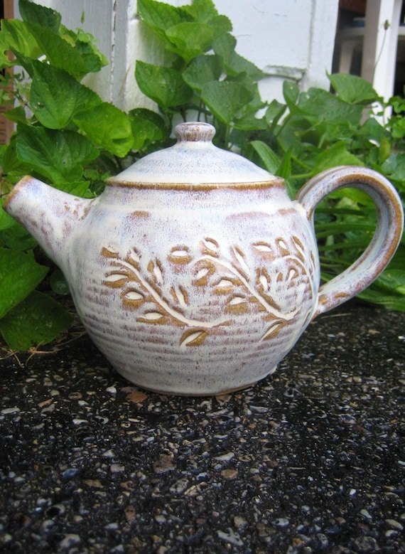 Teapot Speckled Cream Glaze