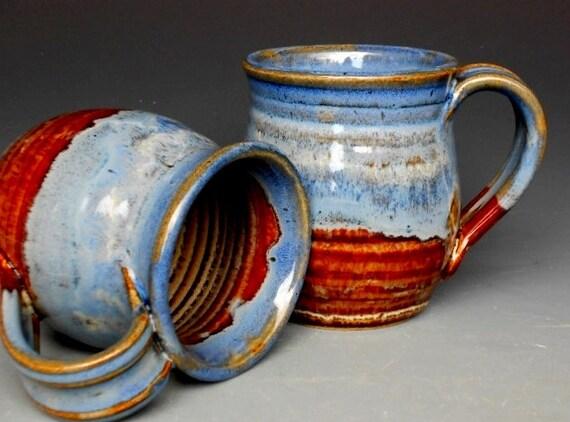 Blue Mug  Ceramic Coffee Mug