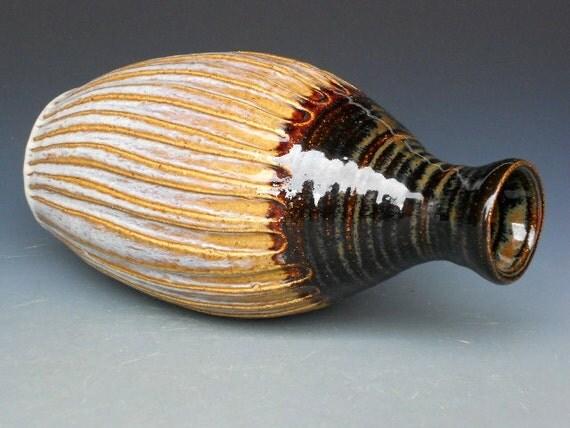 Fluted Bottle Vase