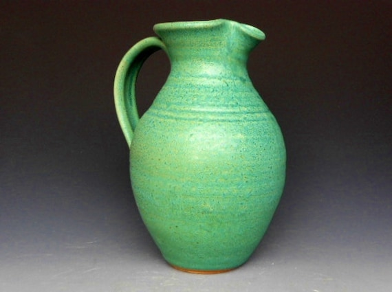 Flower Vase Pitcher Green