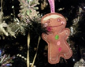 gingerbread man christmas tree decoration holiday decor