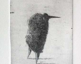 Nose. Original etching