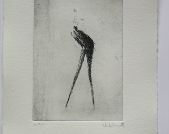 Original Etching Whisper
