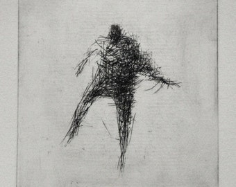 Poise. Original Etching