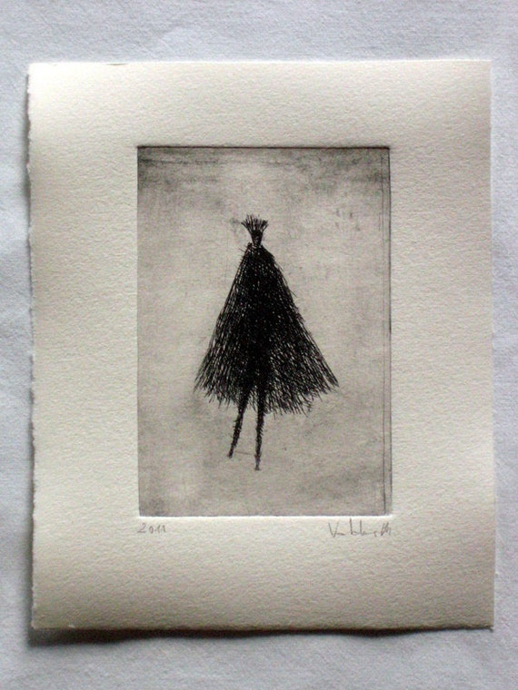 Original Etching Puppet