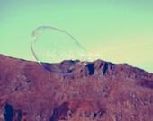 Adventurous Bubble, 6x8, Imagination, Adventure, Pastel Soft Colours, Photographic Print