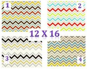 SALE Chevron Pillows Decorative Throw Pillow Lumbar PIllow Travel Pillow Chevron Pillow Cover Choice of 4 Great Colors