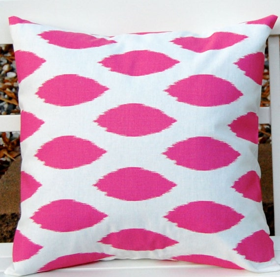 Pink Decorative Pillow Covers : Pink Pillow Covers Decorative Throw Pillow by FestiveHomeDecor