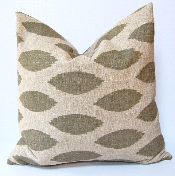 Ikat Throw Pillows Etsy : Decorative Pillows Accent Pillows Ikat Pillow Covers 20 x 20