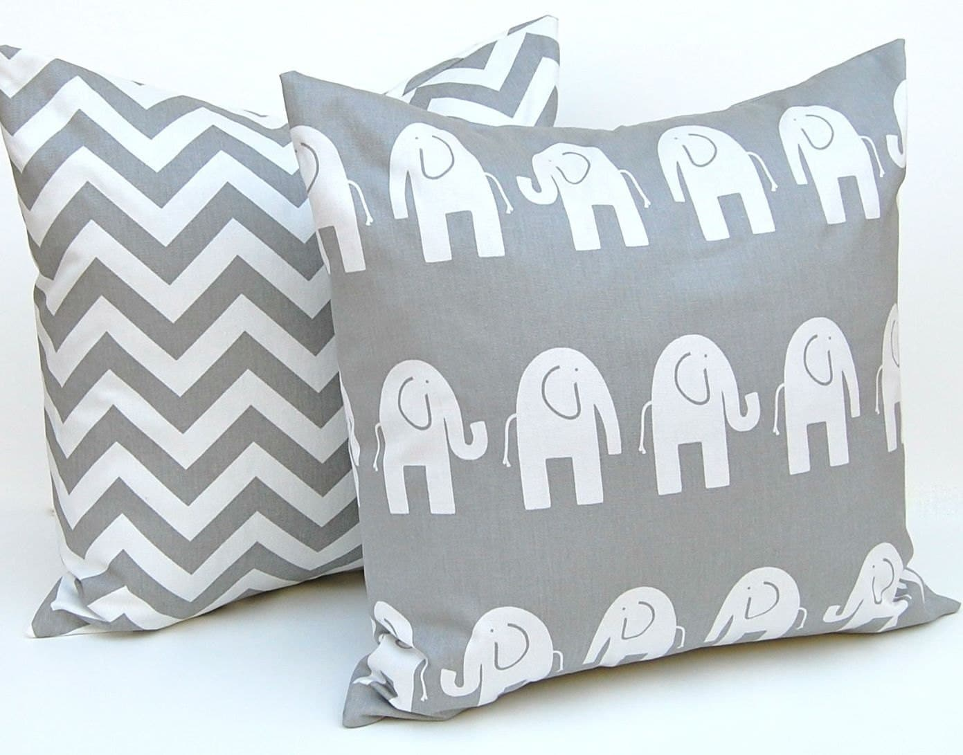 Decorative Pillows Children Decor Gray Animal by FestiveHomeDecor