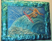 """Surf Like a Girl No 2 in the series--""""Tear It Up"""""""