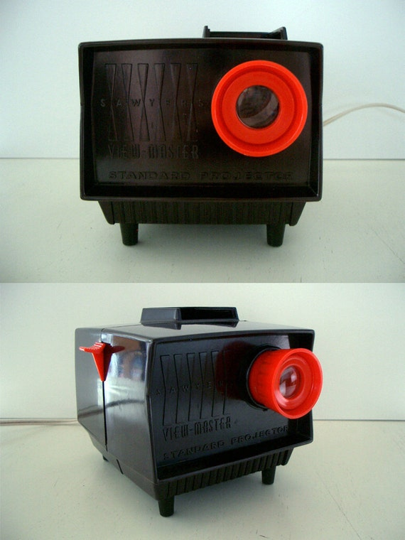VINTAGE View Master Projector by Sawyer WORKING CONDITION Bakelite