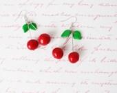 Earring Cherry