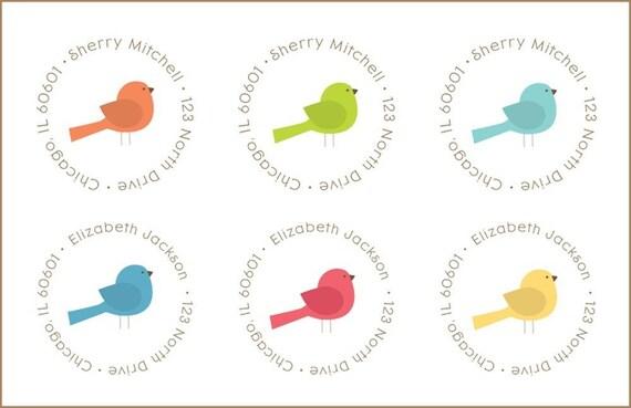 Bird Address Labels